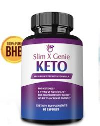 Slim X Genie: Is Keto Pills? Shark Tank Reviews